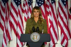 Melania Trumpová promluvila na sjezdu republikánů