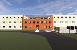 Vizualizace nové ubytovny ve věznici ve Světlé nad Sázavou
