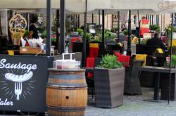 Restaurace v historickém centru Prahy