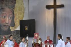 Národní svatováclavská pouť vyvrcholila slavnostní bohoslužbou