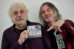 Robert Křesťan a Luboš Malina s albem Díl první