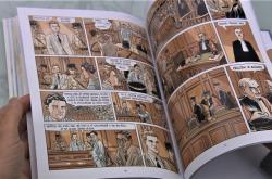 Komiks Albert Camus: Cizinec