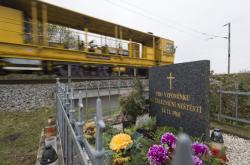 Pomník katastrofy u Stéblové