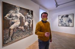 Retrospektivní výstava Jiřího Načeradského
