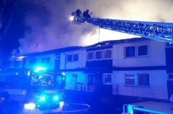 Požár ubytovny v Kutné Hoře