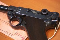 Odevzdaná zbraň v rámci amnestie