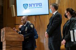 Brífink newyorské policie k případu napadení ženy z Filipín