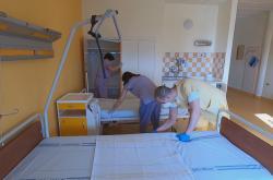 Nemocnice v Chebu přeměńuje covidové oddělení