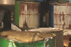 Lhenice sanovaly sklad chemikálií