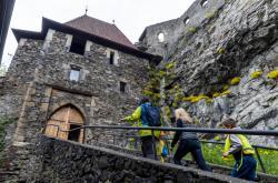 Hrad Střekov otevřel 4. května návštevníkům venkovní prostory