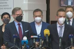 Brífink opozičních lídrů