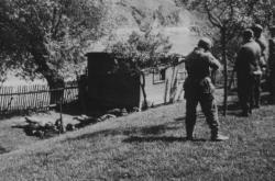 Živohošť květen 1945