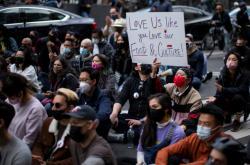 Protest proti nenávisti vůči americkým Asiatům