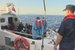 Migranti v Egejském moři