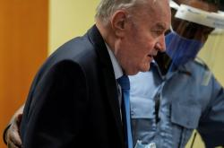 Ratko Mladič u soudu