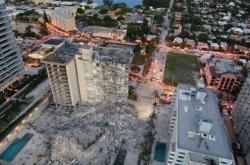 Zřícený dům v Miami