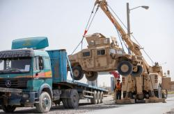 Američané odcházejí z Afghánistánu