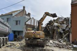 Likvidace škod po tornádu