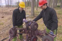 Robot pomáhá s ochranou proti kůrovci