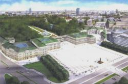 Vizualizace Saský palác