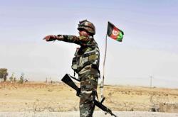 Voják afghánské armády