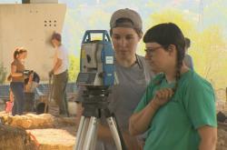 Čeští archeologové v Izraeli