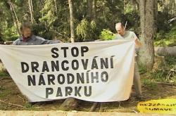 Blokáda Šumavy v roce 2011