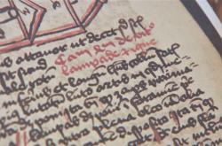 Kniha Vlachů je psaná německy i latinsky
