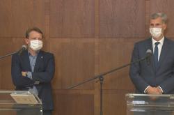 Tisková konference k letu olympijských sportovců do Tokia