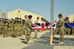 Britská armáda v Afghánistánu končí
