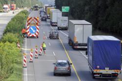 Omezení na dálnici