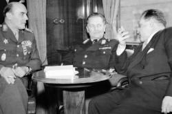 Heliodor Píka, Josif Broz Tito a Vlado Clementis (1947)