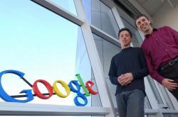 Larry Page (vpravo) a Sergey Brin - zakladatelé Googlu