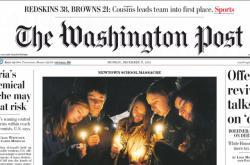 Washington Post ze 17. prosince 2012