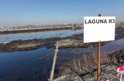 Laguna R3 bývalé chemičky Ostramo v Ostravě