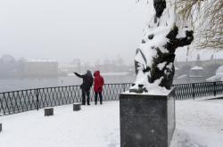 Sníh se Smetanou