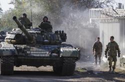 Jednotky separatistů na východě Ukrajiny