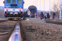 Na přestup mezi vlaky mají v Újezdci u Luhačovic dvě minuty