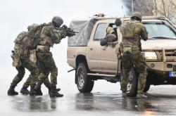Zásah elitních vojáků proti teroristům