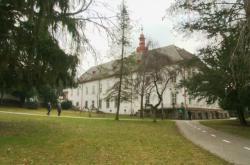 Barokní zámek v Luhačovicích