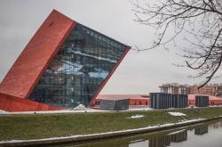 Muzeum 2. světové války v polském Gdaňsku