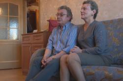 Přeživší Irina Polevská s manželem