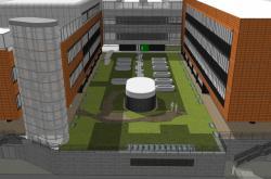 Budova nové biobanky v Brně