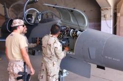 Čeští letečtí instruktoři v Iráku
