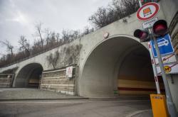 Výjezdy z tunelu Mrázovka