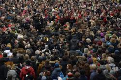 Oslava 17. listopadu pod názvem Korzo Národní.