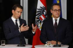 Sebastian Kurz a Heinz-Christian Strache