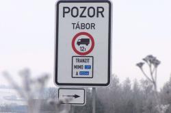Zákaz vjezdu kamionů do Tábora