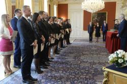 Jmenování soudců prezidetnem Milošem Zemanem