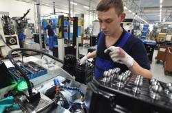 Provoz v dačické firmě THK Rhythm Automotive Czech dodávající díly pro automobilový průmysl